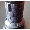 Resina Stone Coal Black di Liqcreate sample 3 image